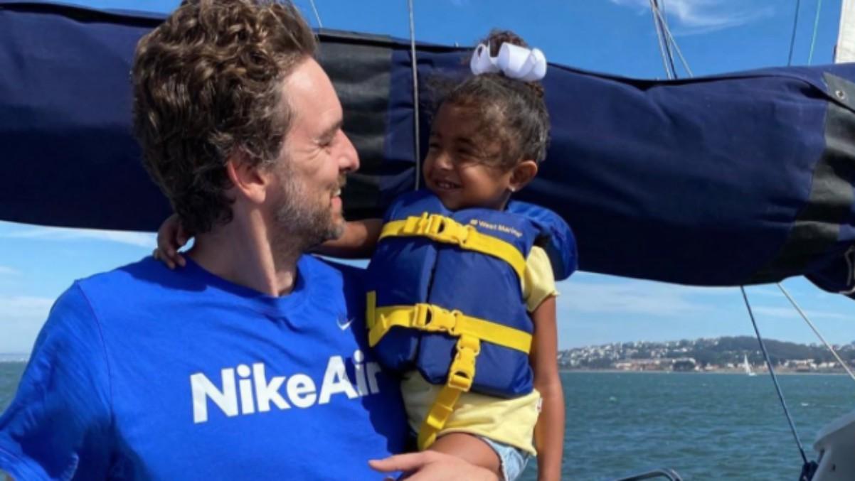 Pau Gasol está pasando las vacaciones con la familia de Kobe Bryant. (Instagram)