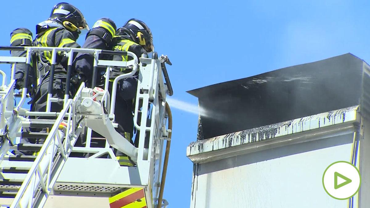 El restaurante de Dabiz Muñoz, DiverXO, sufre un incendio.