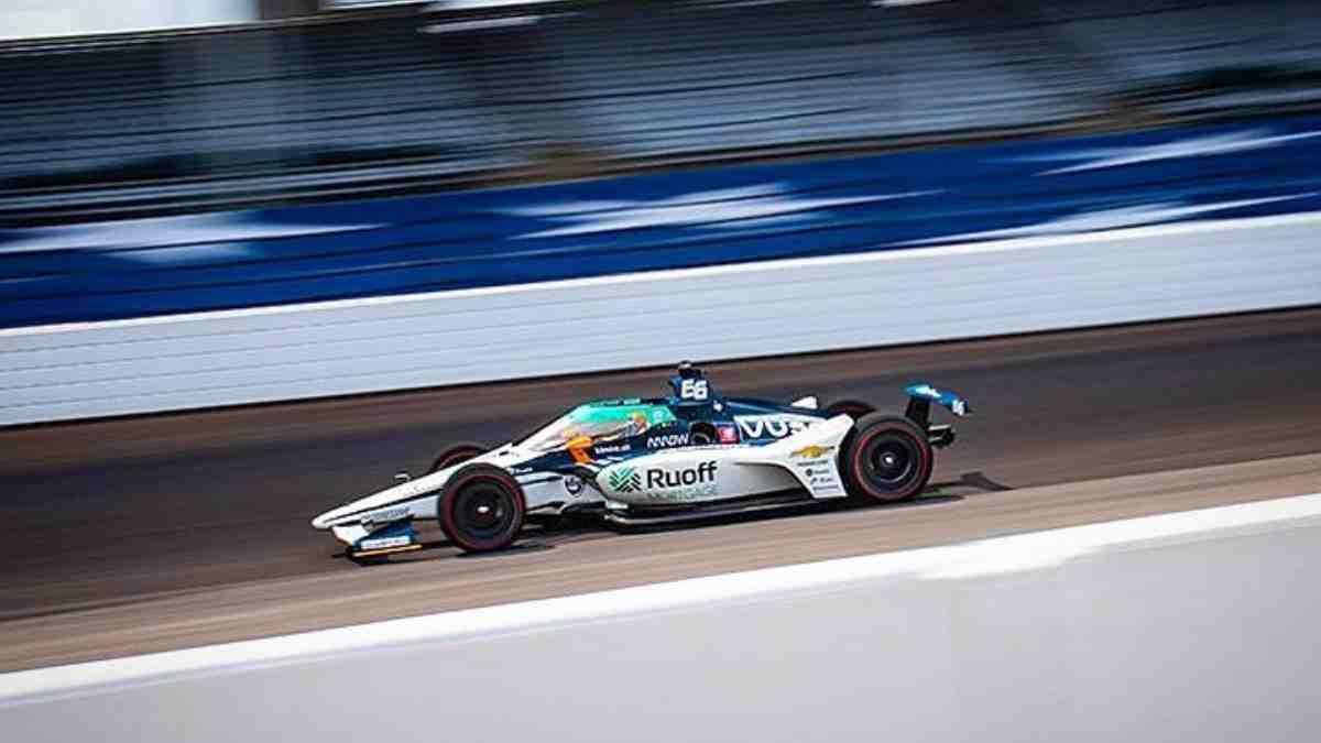 Fernando Alonso en las 500 millas de Indianápolis. (@alo_oficial)
