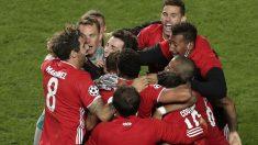 Los jugadores del Bayern celebran su victoria en la final de la Champions. (Getty)