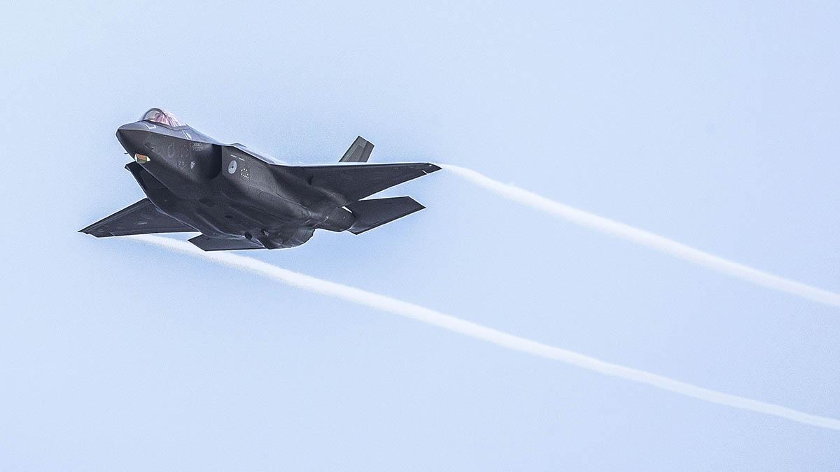 El F-35 es el caza más moderno de la flota de EEUU.