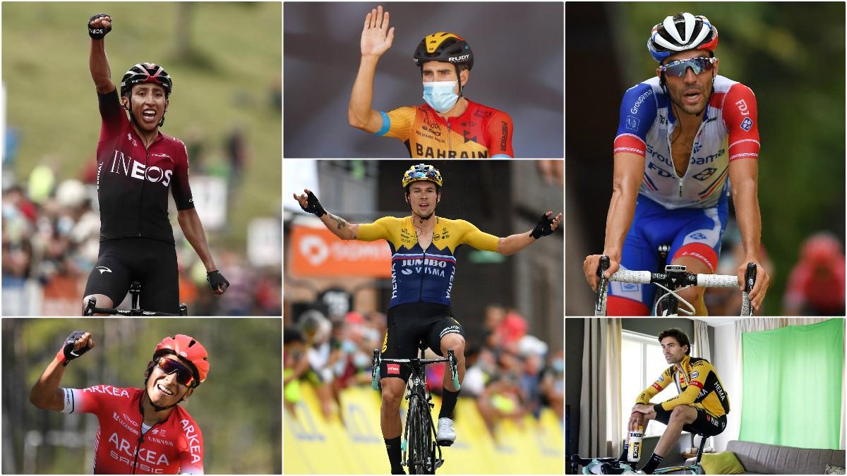 Los favoritos para el Tour de Francia 2020.