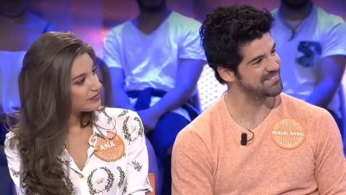 Ana Guerra y Miguel Ángel Muñoz en 'Pasapalabra'