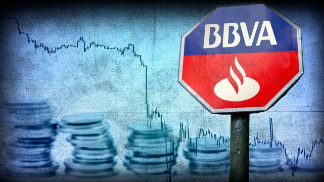El colapso de las divisas en sus principales mercados extranjeros castiga a Santander y BBVA