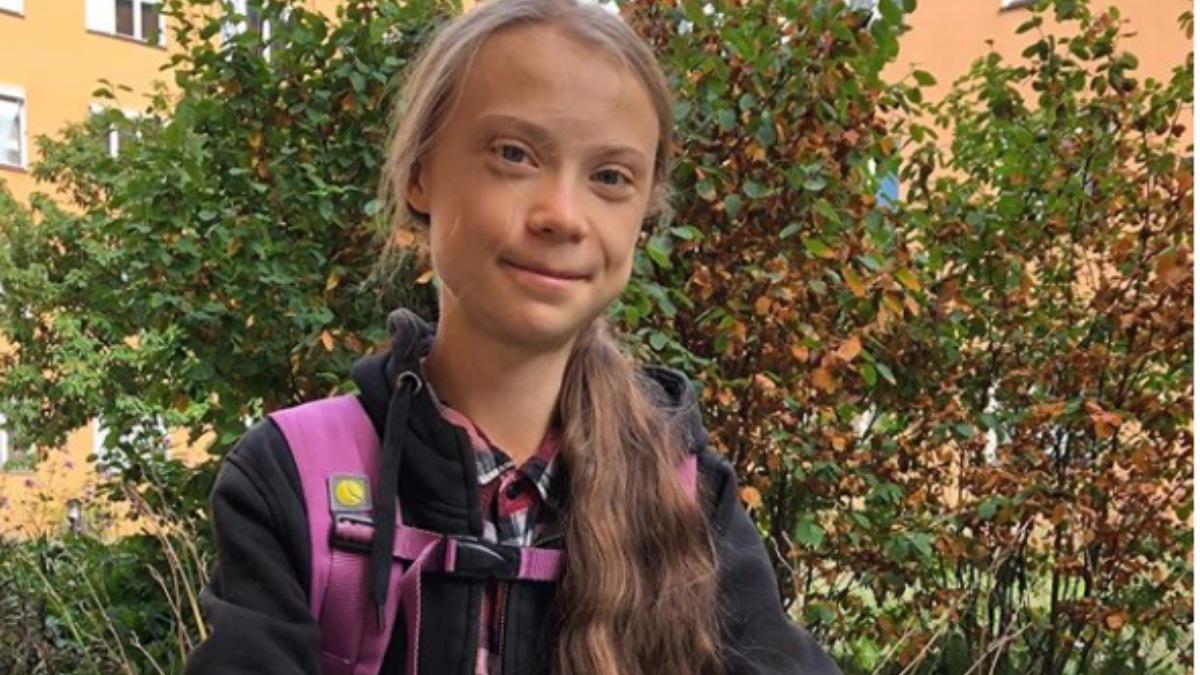 Instagram: La vuelta al cole en bicicleta de Greta Thunberg después de su año sabático
