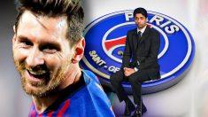 El PSG también piensa en Leo Messi.