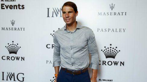 Rafael Nadal, en un acto. (Getty)