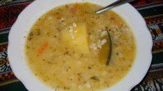 Receta de Sopa de hinojo y trigo