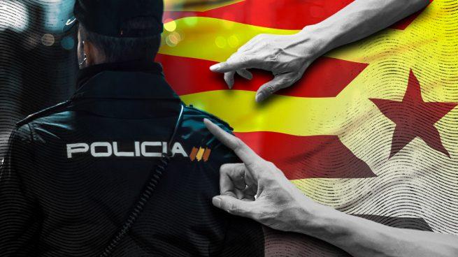 Los Mossos independentistas piden señalar a los policías nacionales que no hablen catalán