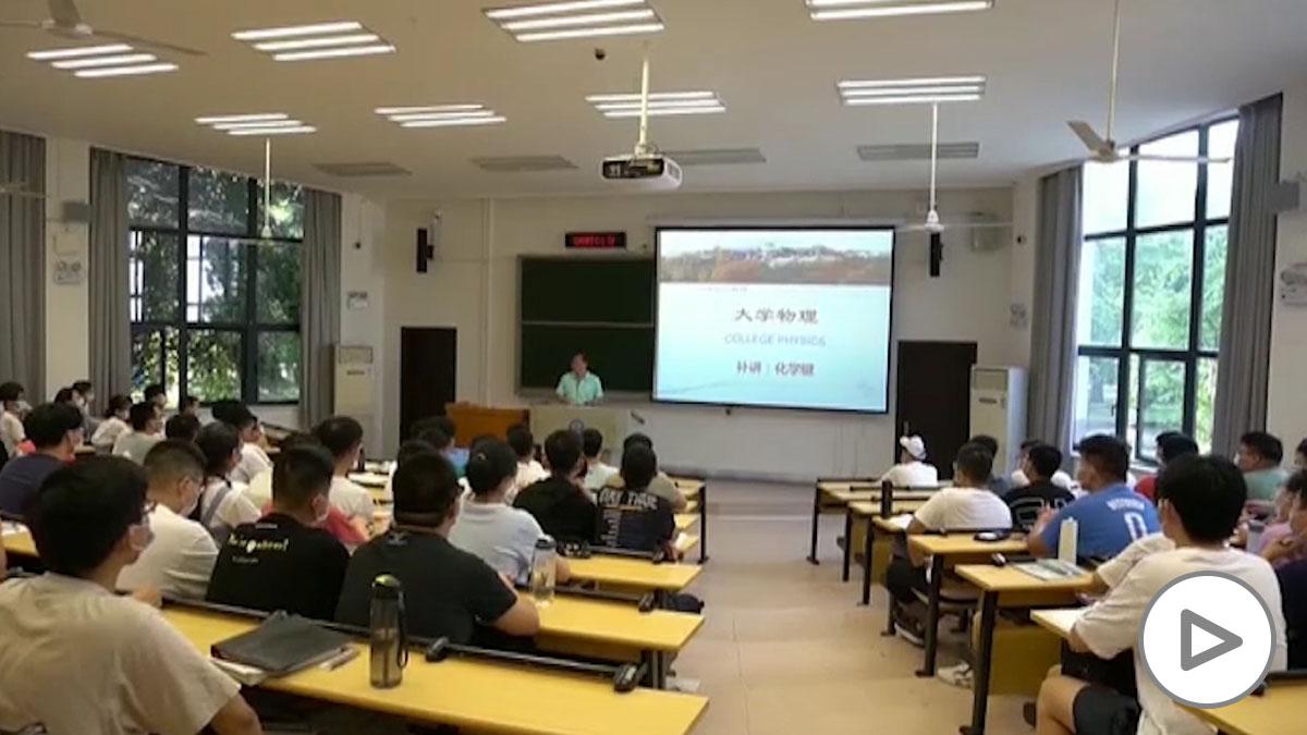 La Universidad de Wuhan empieza su 'nueva normalidad'.