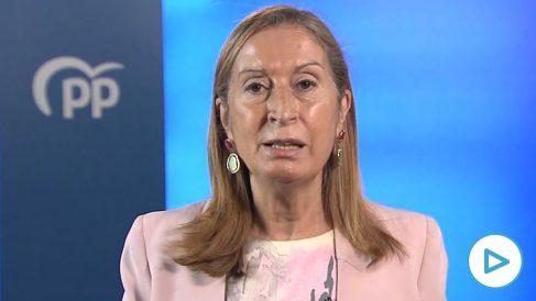 La vicesecretaria de Política Social del PP, Ana Pastor.