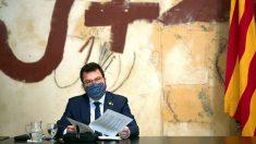 El presidente en funciones del Govern y conseller de Economía, Pere Aragonès. Foto: EFE