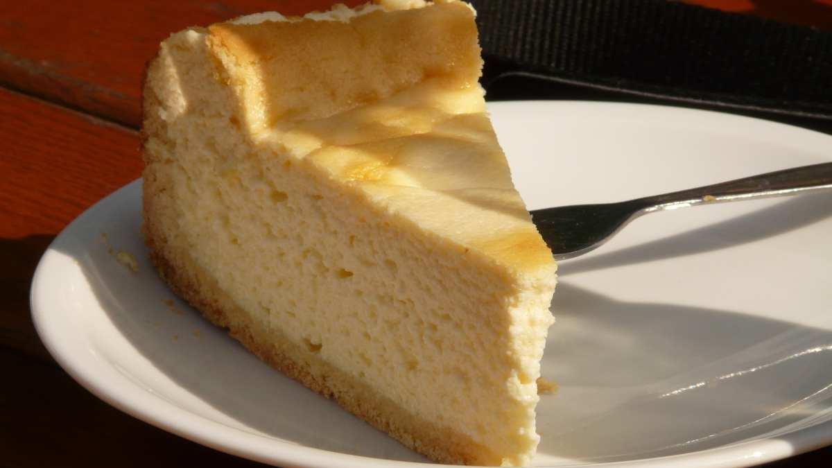 Receta de Tarta de queso y café vegana sin horno