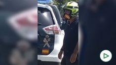 Dos guardias civiles y un policía heridos por un motín en el CETI de Melilla.