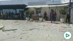 Se descontrola el motín en el CETI de Melilla: 26 amotinados hieren a 10 agentes y siete vigilantes.