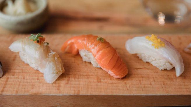 Receta de arroz para sushi al microondas
