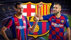 El Barcelona pide a Busquets y Alba que se bajen el sueldo.
