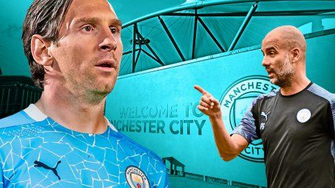 El City es el favorito para llevarse a Messi.