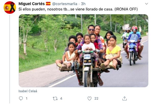 Burlas en Twitter por la ocurrencia de Celaá de que los niños vayan en bici al colegio para evitar el virus