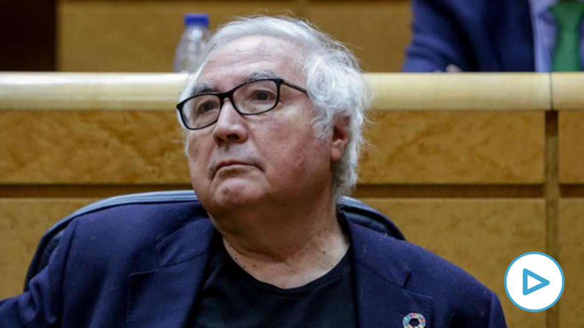 El ministro de Universidades, Manuel Castells. (Foto: Europa Press)