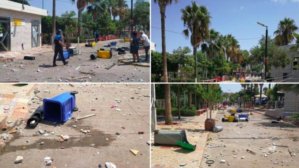 Los inmigrantes del CETI de Melilla amenazan a Sánchez: «O vamos a la península o habrá más disturbios».
