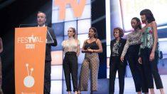 Un momento de la edición de 2019 del Festival de Televisión de Vitoria. Foto: @FesTVal