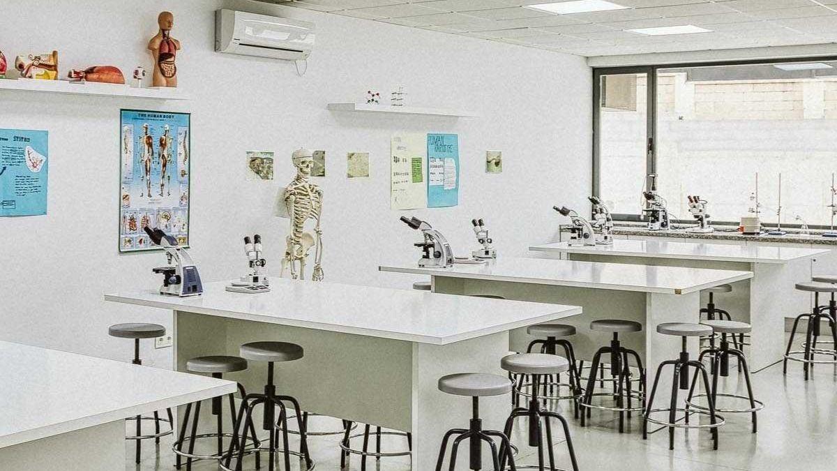 Aula de ciencias