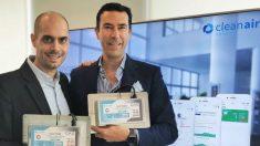 Miguel Garat y Pablo Fernández, fundadores de Cleanair Spaces