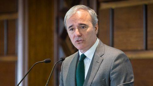 Jorge Azcón, alcalde de Zaragoza y portavoz del PP en la Femp.