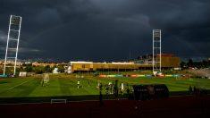 España se entrena en la Ciudad del Fútbol de Las Rozas. (Getty)