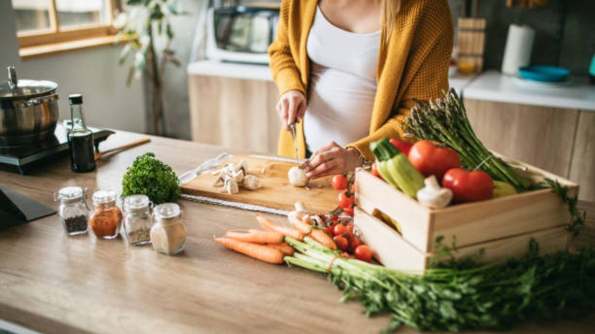 Durante el embarazo es importante cuidar la nutrición.
