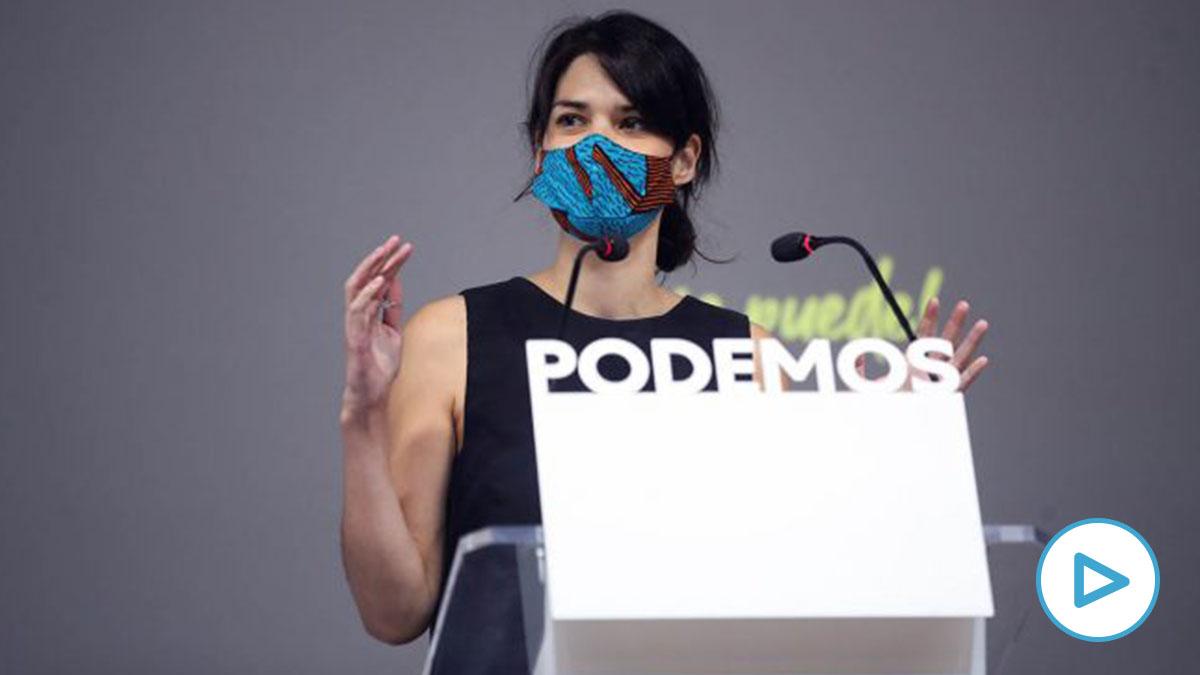 La diputada de Podemos en Asamblea de Madrid Isa Serra