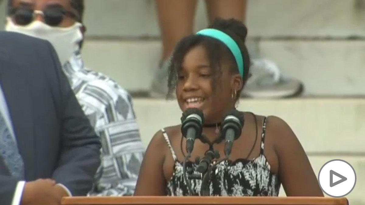 """Yolanda Renee King, nieta de Martin Luther King- """"Cumpliremos el sueño de mi abuelo"""""""