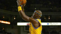 Cliff Robinson con Golden State Warriors. (AFP)