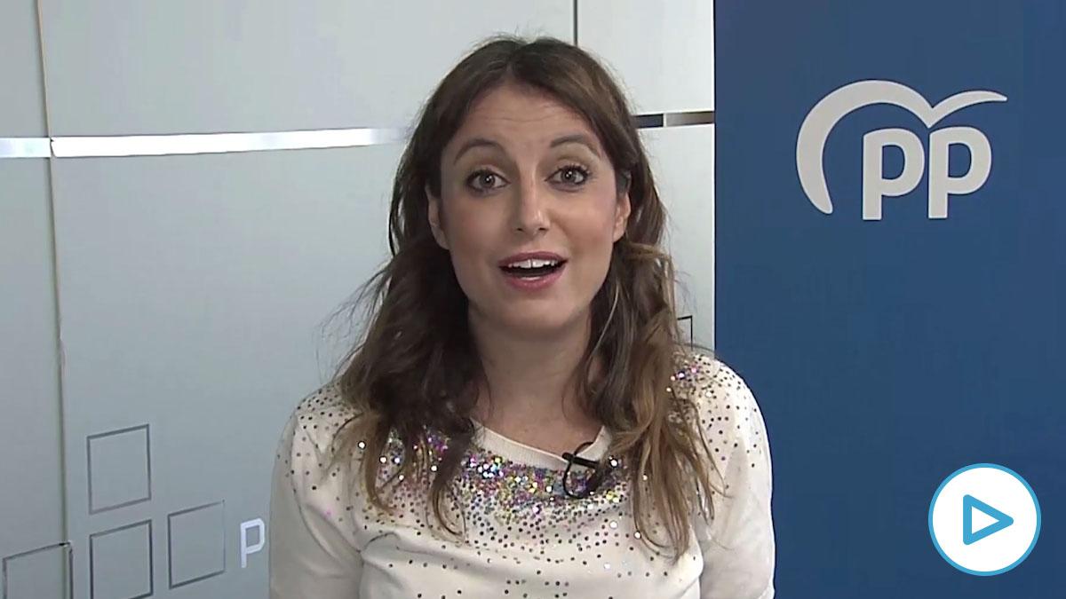 Andrea Levy, presidenta del Comité de Derechos y Garantías del Partido Popular