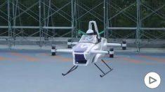 Japón prueba con éxito el automóvil volador más pequeño del mundo