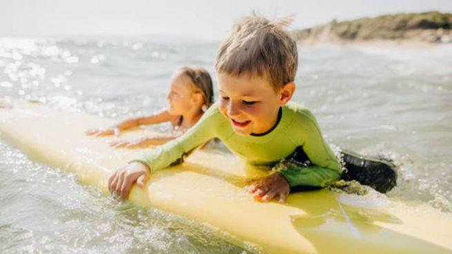 tablas de surf para los niños