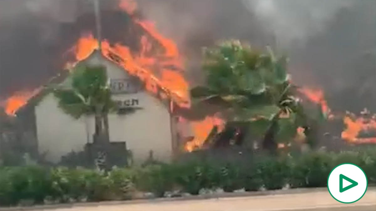 Un incendio arrasa el club Puro Beach del empresario Rosauro Varo pareja de Amaia Salamanca