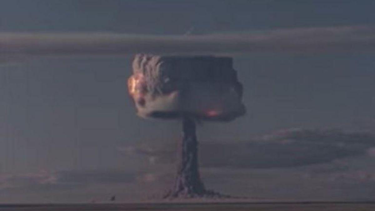 Las imágenes de la bomba nuclear más potente de la historia