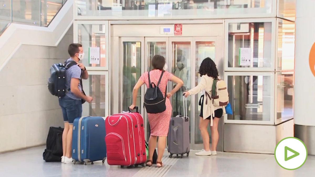 La atípica operación retorno de Atocha y Barajas