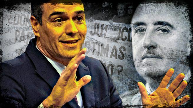 Pedro Sánchez Fiscalía franquismo