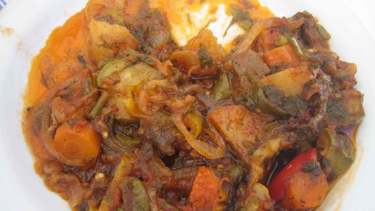 Receta de Briam: guiso griego de verduras crujientes