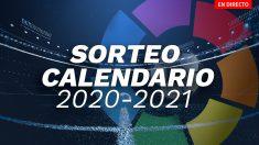 En directo: sorteo del calendario de la Liga Santander 2020-2021.