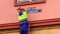 Eliminan la avenida Rey Juan Carlos I en Cádiz.