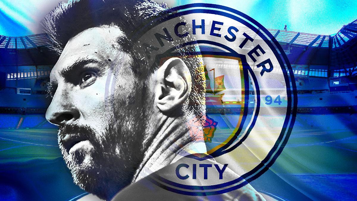 El Manchester City sigue queriendo a Messi y espera una llamada del jugador.
