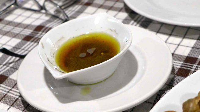 Vinagreta con hinojo para ensaladas