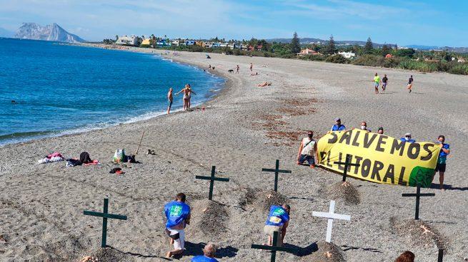 Sotogrande se queda sin playas: denuncian la pérdida de más de un millón de metros cúbicos de arena.