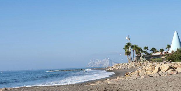 Playa de Sotogrande. Imágenes decidas por Verdemar.