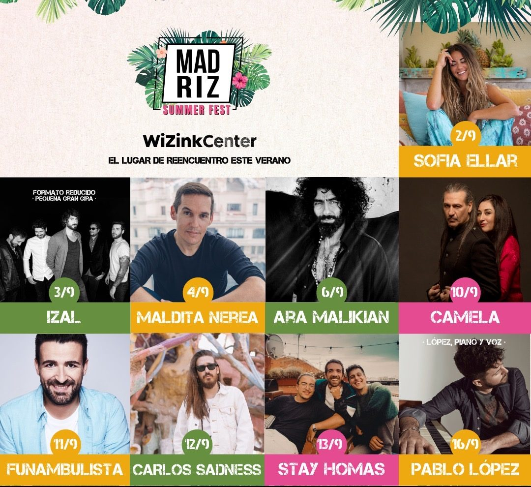 Cartel Madriz Summer Fest