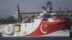 El buque turco de exploración sísmica Oruç Reis.